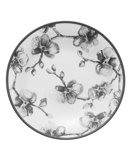 Black Orchid Salad Plate