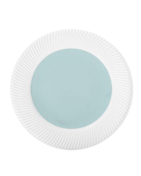 Twist Salad Plate, Seafoam