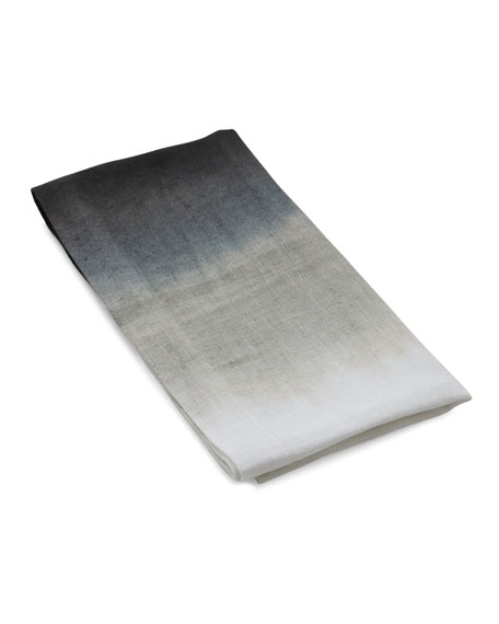 Dip Dye Dinner Napkin, Grey