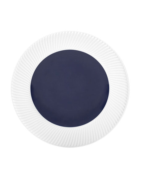 Twist Salad Plate, Midnight