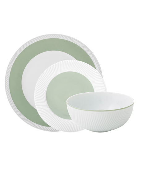 Michael Aram Twist 3-Piece Place Setting, Sage