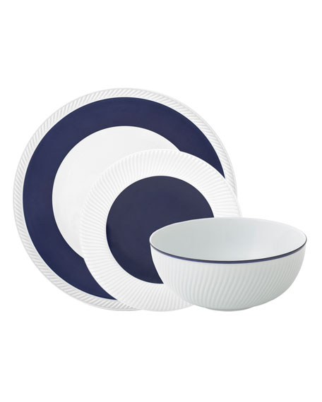 Twist 3-Piece Place Setting, Midnight