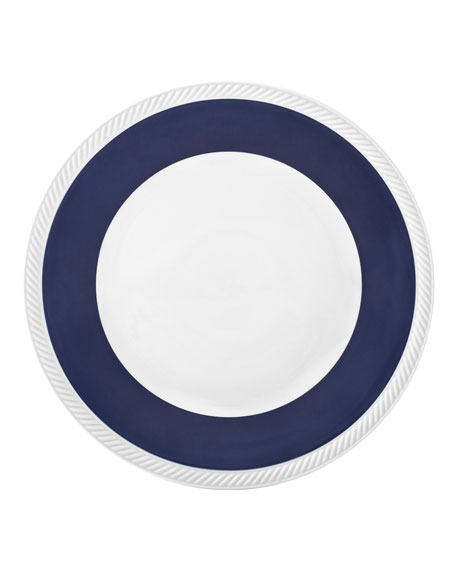 Twist Dinner Plate, Midnight
