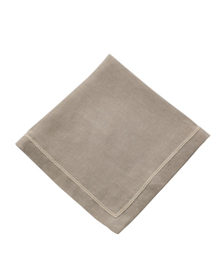 Twist-Trim Dinner Napkin, Natural