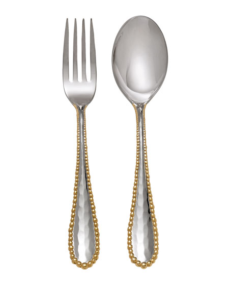 Michael Aram Molten Serving Set, Gold