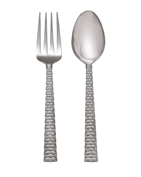 Michael Aram Palm Serving Set