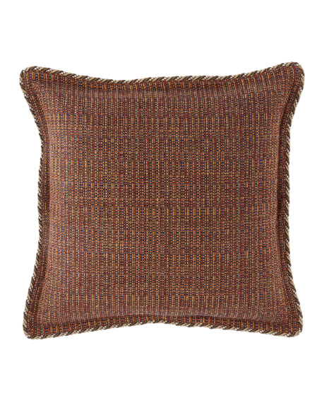 Mehndi Tweed European Sham