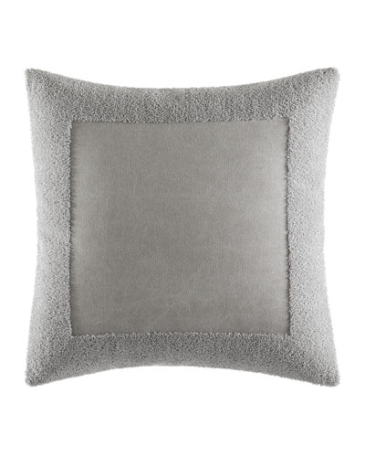 Terry Border Pillow  18Sq.