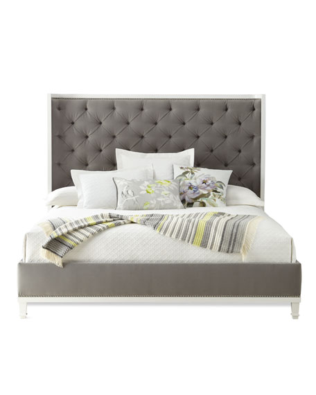 Kindry Tufted California King Shelter Bed