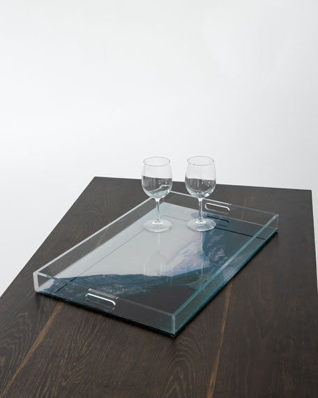 Crystal Clear Acrylic Serving Tray