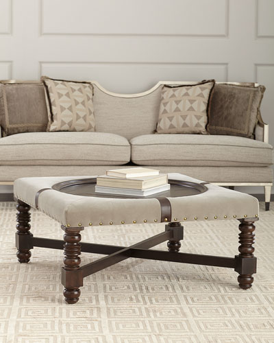 Lynette Upholstered Coffee Table