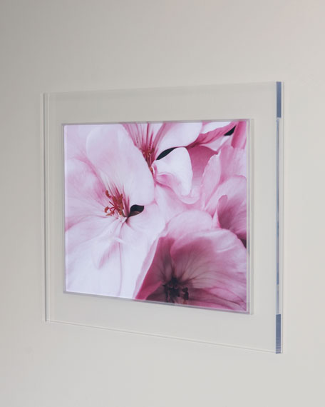 """Pink Blossom"" Photography Print Framed Handmade Art"