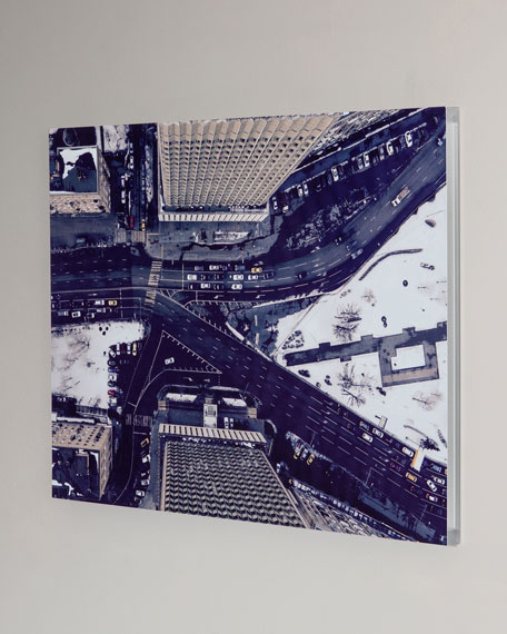 """Downtown"" Photography Print Handmade HD Metal & Acrylic Art"