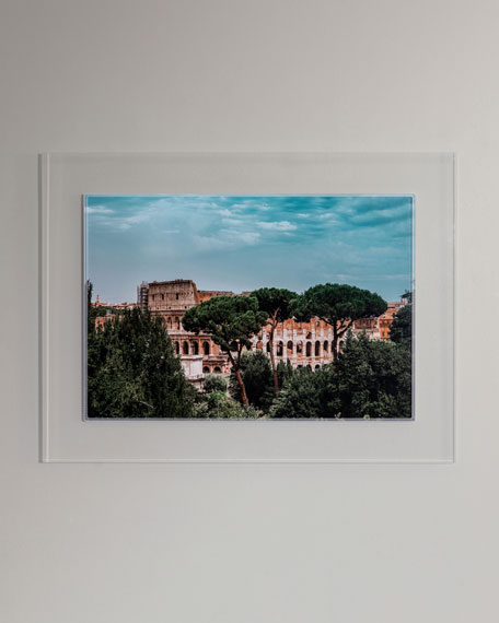"""The Colosseum"" Photography Print Framed Handmade Art"
