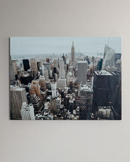 """The Big Apple"" Photography Print Handmade HD Metal & Acrylic Art"