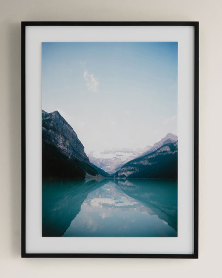 """""""Crystal Clear"""" Photography Print on Photo Paper Framed Wall Art"""