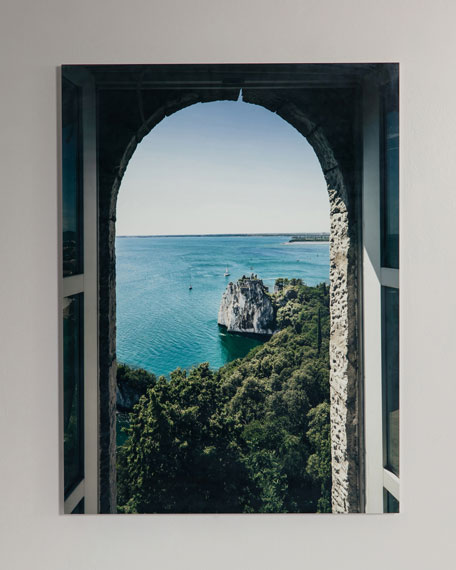 """Through the Window"" Photography Print Handmade HD Metal & Acrylic Art"
