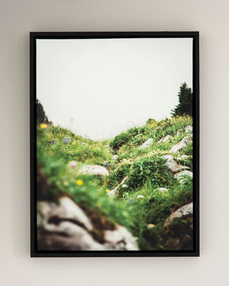 """Spring"" Photography Print on Canvas Framed Wall Art"