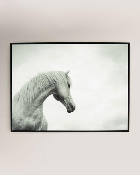 """The Curve"" Photography Print on Canvas Framed Wall Art"