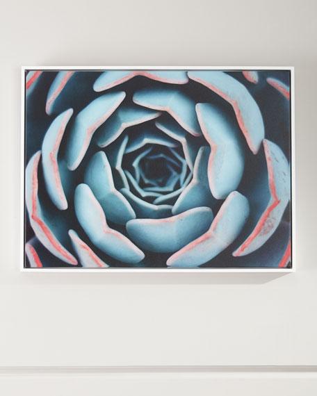 """Close-Up"" Framed Handmade Wall Art  on Canvas"