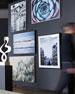 """Crashing"" Framed Photography Art Print on Canvas"