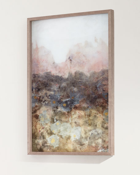 """Smokey Erosion II"" Framed Giclee Art"