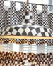 """Courtly Check Barn Pendant Lamp, 18"""""""