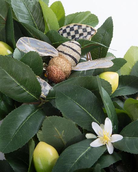 Queen Bee Lemon Wreath