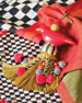 Ceramic Bird Tassel