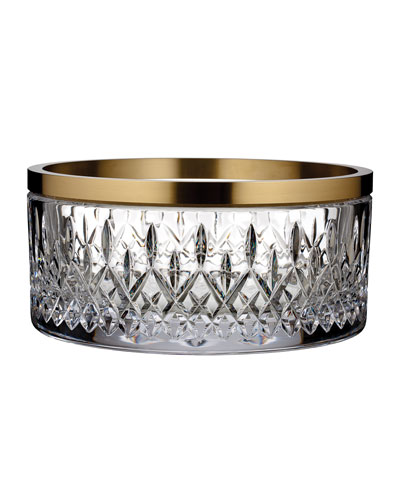 Lismore Reflections Gold Band Bowl, 10