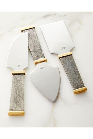 Michael Aram Anemone Cheese Knife Set