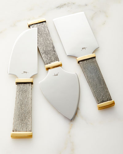Anemone Cheese Knife Set
