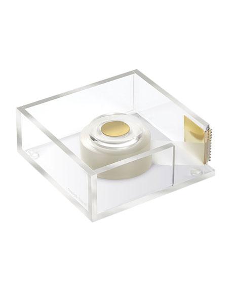 Acrylic Tape Dispenser Bloc