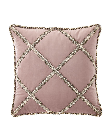 Serafina Lattice Boutique Pillow