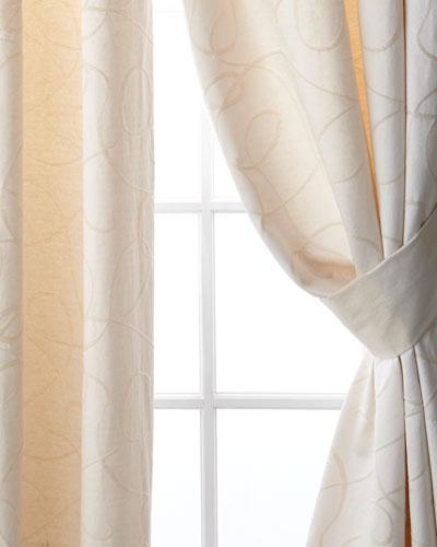 Pair of 2 Leisure Drapery Curtain Panels