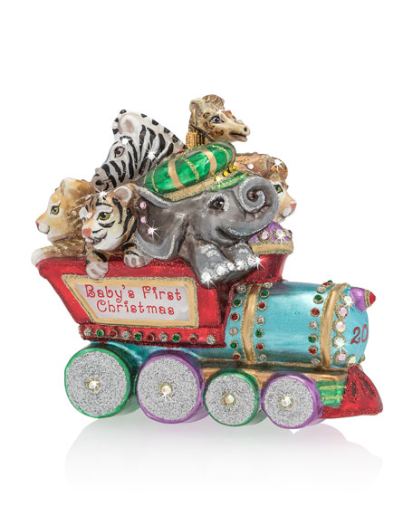 Baby's First Christmas Train Christmas Ornament