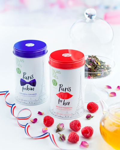 Paris For Him & Her Tea Duo Set