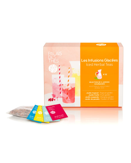 Palais des Thes Herbal Iced Teas Assortment Box,