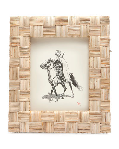 Grasse Natural Cane  Picture Frame, 8