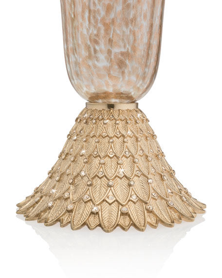 Composition Feather Vase