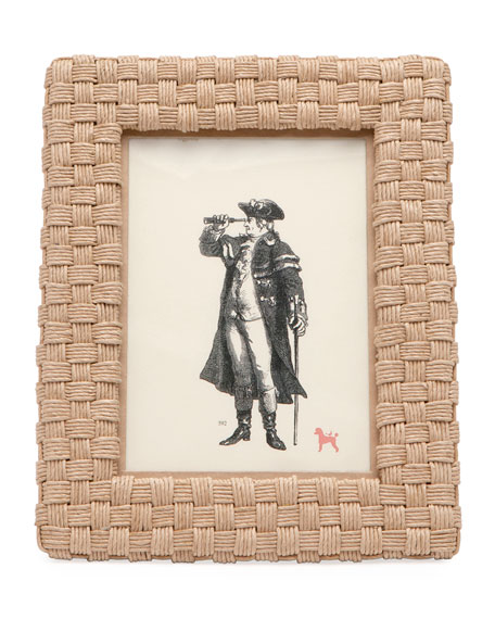 """Genova Natural Rope Picture Frame, 5"""" x 7"""""""
