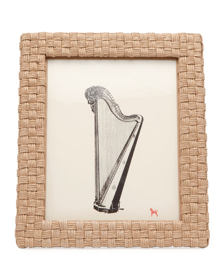 "Genova Natural Rope Picture Frame, 8"" x 10"""