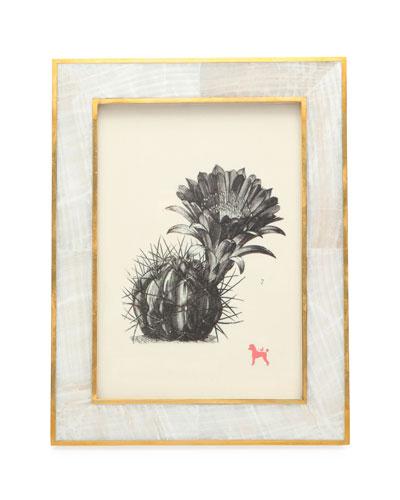 Bari Natural Clamstone Picture Frame, 5