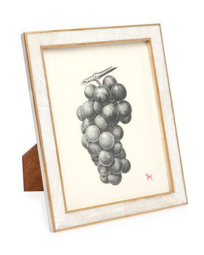 Bari Natural Clamstone Picture Frame, 8