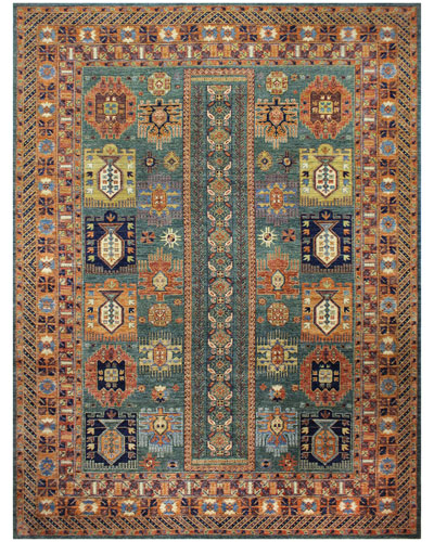Nancy One-of-a-Kind Hand-Knotted Rug  8.1' x 11.1'