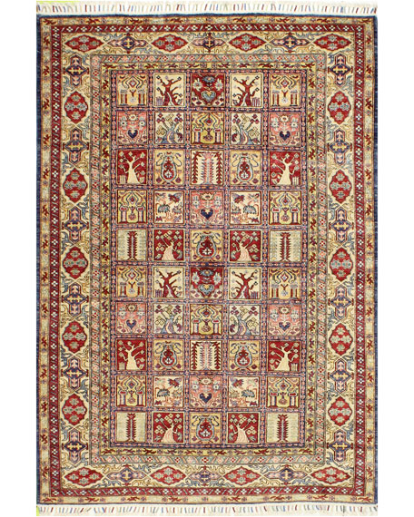 Madelyn One-of-a-Kind Hand-Knotted Rug, 5.3' x 7.8'
