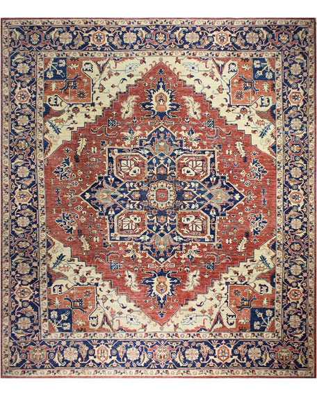 Lauren One-of-a-Kind Hand-Knotted Rug, 8.1' x 10.1'