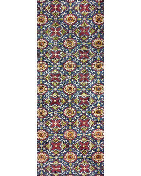 Zooey One-of-a-Kind Hand-Knotted Rug, 5' x 13.8'