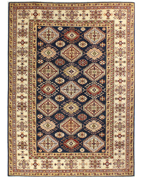 Khloe One-of-a-Kind Hand-Knotted Rug, 6.8' x 9.5'