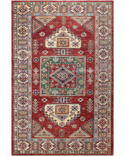 Hayden One-of-a-Kind Hand-Knotted Rug, 6' x 9.1'